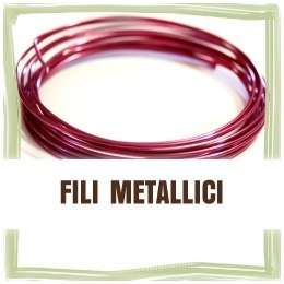 Fili metallici colorati