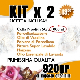 Kit 2 - Porcellana fredda