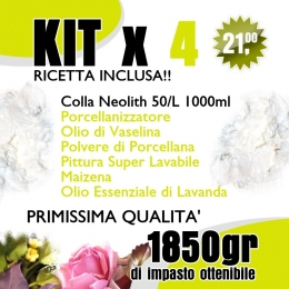 Kit 4 - Porcellana fredda