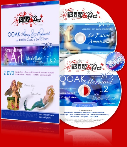 Doppio DVD OOAK - Fairy and Mermaid