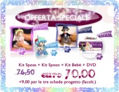 I kit in offerta per Swarovski in 3D